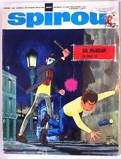 A)SPIROU N°1637  avec le mini récit, avec les fiches aviation