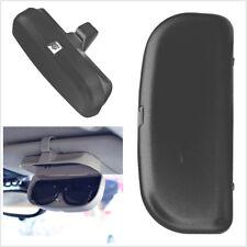 Car Sun Visor Sunglasses Eyeglasses Glasses Holder Card Ticket Pen Clip Case Box