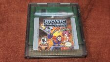 GAME BOY COLOR BIONIC COMMAND ELITE FORCES GAME CARTRIDGE ONLY Good Condition