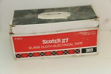 New listing Vintage 3m Scotch 27 Glass Cloth Electrical Tape - Box of 8 Total