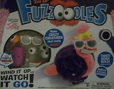 New Justice Wind 'Em Up Fuzzoodles Crazy Creatures Special Purple Wind Up Base