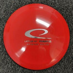 Latitude 64 Premiere Edition Disc Golf Primitus OOP- Red w/ Silver HS - 170-175g