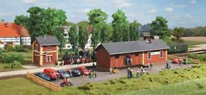 Auhagen 11435 Steinbach station with water tower H0 / H0e narrow gauge