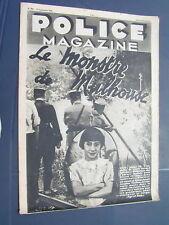 Police 1936 303 MULHOUSE RIXHEIM  LIVRY GARGAN KU KLUX KLAN
