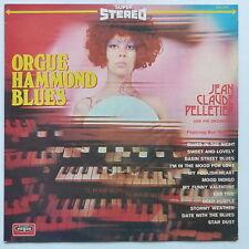 JEAN CLAUDE PELLETIER Feat BURT MACKAY  Orgue Hammond blues SLD 854