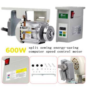 Industrial Sewing Machine 600W Energy Saving Mute Brushless Servo Motor Split
