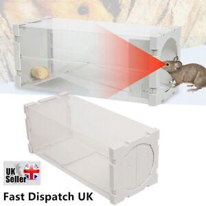 Auto Mouse Trap Humane Live Catcher Rat Vermin Rodent Cage Traps Pest New