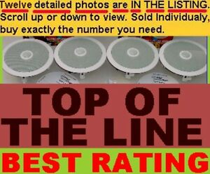 IN-CEILING IN-WALL TOP-OF-THE-LINE PROFESSIONAL INSTALL WHOLE HOUSE SPEAKERS