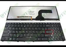 New US laptop keyboard ASUS G53 G60 G73 G51 G72 K52 K53 X73 backlit/backlight
