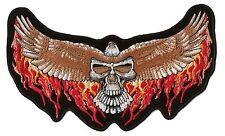 Parche Dorsal Escudo Bordado Espalda Gran Tamaño Motero Águila de Luz Grande