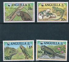 [138] Anguilla Lezard WWF good Set very fine MNH Stamps
