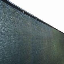 ALEKO Fence Privacy Screen With Grommets Outdoor Windscreen 4x25 Ft Dark Green