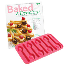 8 Spoons Silicone Mould Chocolate Mold Baking Tray Wax Melts Ice