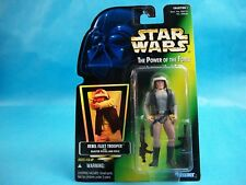 Star Wars Power of the Force REBEL FLEET TROOPER Green Card 1997 Collection 1