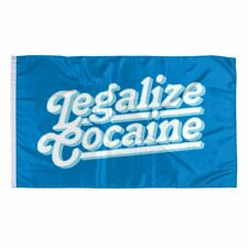 Legalize Cocaine Banner Flag 3x5Feet Man Cave