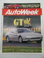 AUTO WEEK MAGAZINE JULY 12, 1993 FERRARI 456 GT 348 CHALLENGENISSAN ALTIMA SE