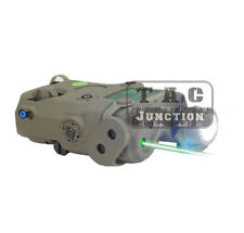 FMA advanced Target Pointer Illuminator Aiming LED Light+Green Laser w/ IR Lens