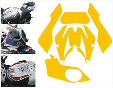 BMW S1000 RR 2010 vinile  Giallo lucido -  adesivi/adhesives/stickers/decal