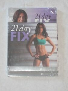 Beachbody 21 Day Fix DVD Workout set with Meal Plan Book New - Factory Sealed