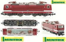 Minitrix 12857 Vintage at Lune Gorge Electrical Br143 Railway Dr with Lights