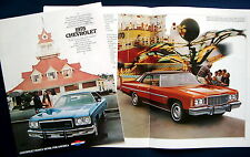 Prospekt brochure 1975 Chevrolet Caprice Classic  Impala  Bel Air  (USA)