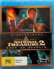 National Treasure 2 -Book Of Secrets Blu Ray (NEW) Disney Film -Nicholas Cage