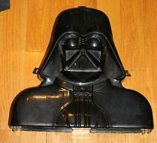 Vintage Star Wars Darth Vader Action Figure Carrying Case ROTJ  with stickers #2