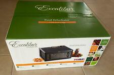 New Excalibur 5 Tray Clear Door Dehydrator Made in U.S.A. Lowest Price On Ebay