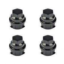 4 Pack Black Wheel Nut Cover M24-2.0, Hex 19mm Fits # 9593028 / 9593228