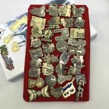 Detective Conan Pin Badge BROOCH Batch Backpack Anime Decorate 34pcs in box