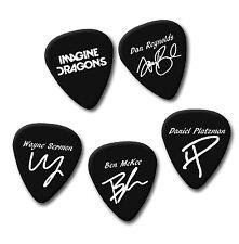 IMAGINE DRAGONS DAN REYNOLDS WAYNE signature print plectrum guitar pick picks
