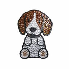 Beagle Dog Rhinestone Glitter Jewel Phone Ipod Iphone Sticker Decal