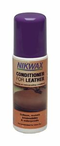 Nikwax Conditioner for Leather waterproofing softening boots125ml Sponge On -