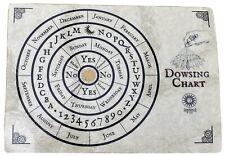 Dowsing Chart Mat for Pendulum Divining Wicca SM11