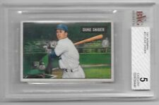 Duke Snider Dodgers 1951 Bowman #32 BVG 5 Excellent