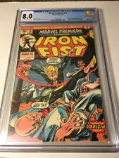 Marvel Premiere #15 CGC 8.0 Origin and 1st Appearance Iron Fist!