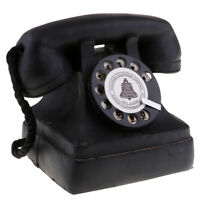 MagiDeal Vintage Antique 1950's Phone Retro Rotary Dial Telephone 7111-13