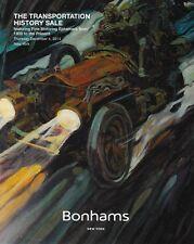 Bonham Transportation History Motoring Auto Ephemera Sale Auction Catalog 2014