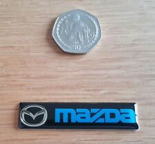 MAZDA 3D DOMED BADGE LOGO EMBLEM STICKER GRAPHIC DECAL CAR RACING MOTOR SPORT