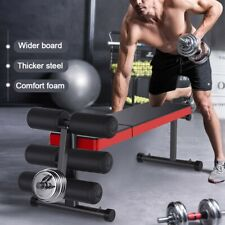 ADJUSTABLE DECLINE INCLINE HOME GYM WEIGHT BENCH SIT UP ABDOMINAL AB FITNESS FID