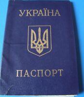 Pass Ausweis UdSSR Ukraine USSR  Kennkarte 6