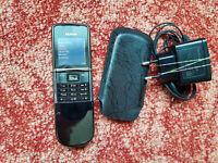 Original Nokia 8800d sirocco type rm-165 black made in Germany unlocked