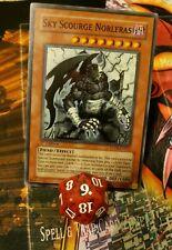 Sky Scourge Norleras FOTB-EN022 Super Rare 1st edition in NM/9 condition!