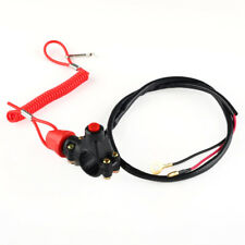 Universal Engine Stop Kill Tether Switch Lanyard for ATV Racing Emergency