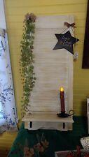 Wooden Window Shutter Shelf Shabby Chic Country decor