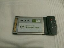 Belkin Wireless G Plus Notebook tarjeta PCMCIA P81989-A