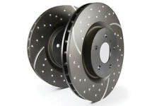 EBC for 03-07 Volvo S60 2.5 Turbo R GD Sport Front Rotors - ebcGD1830