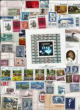 vintage MNH MINT UNUSED FULL GUM CANADA Canadian postage stamps lot B12H