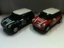 qq NINCO MINI COOPER RED BUS # 18 GREEN # 24 FROM SET 20115
