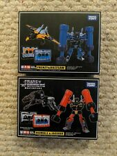 Takara Tomy Transformers Masterpiece MP-15 CP-16 Frenzy Buzzsaw Jaguar Rumble